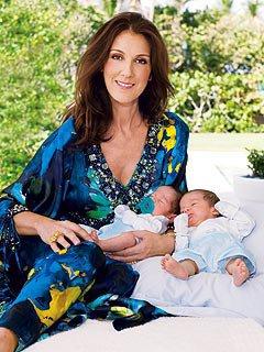 En 2010, Céline Dion donne naissance à des jumeaux...