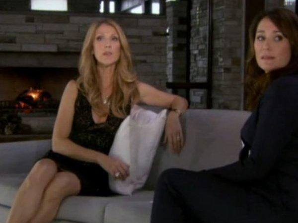 Céline Dion & Daniela Lumbroso : Enregistrement de l'émission du 17 décembre 2012...