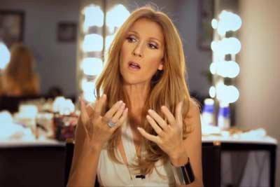Céline Dion veut des concerts à l'automne 2013...