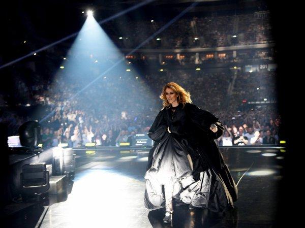 Message de Céline Dion après la fin de sa tournée européenne 2017...