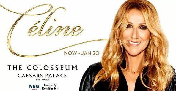 Nouvelles dates pour le show à Las Vegas de Céline Dion...
