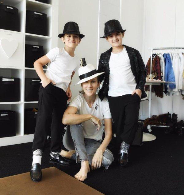 Les 7 ans des jumeaux de Céline Dion...