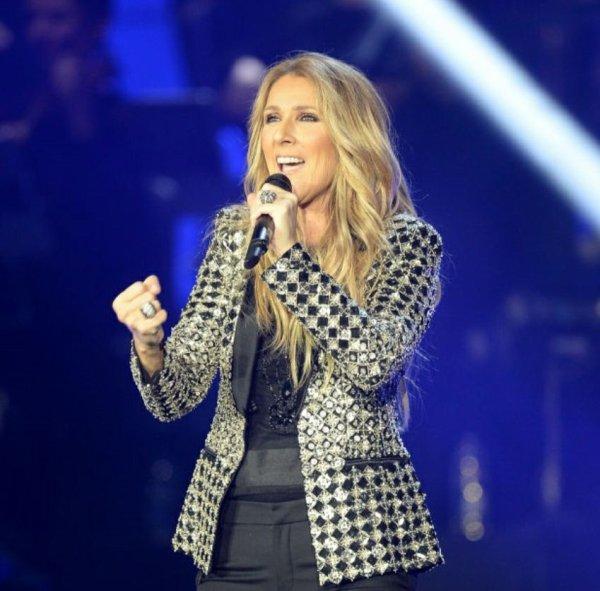 Céline Dion sur TF1 le 26 janvier 2018...