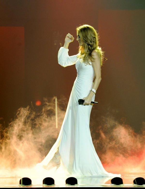 Message de Céline Dion concernant ses derniers spectacles à Las Vegas...