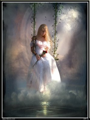Jessica, magnifique ange blanc