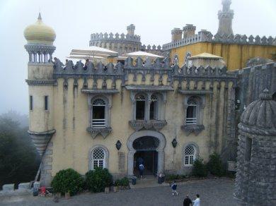 Palacio Da Pena (Palais de la plume) à Sintra au nord de Lisbonnes (Portugal)
