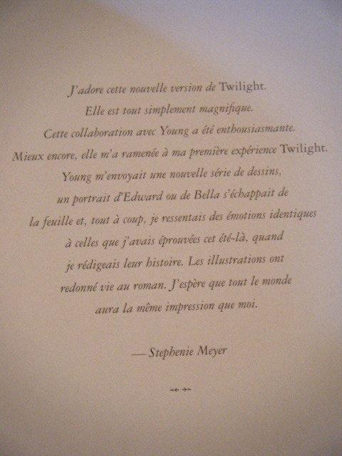 Fan de Twilight ou de Manga ?