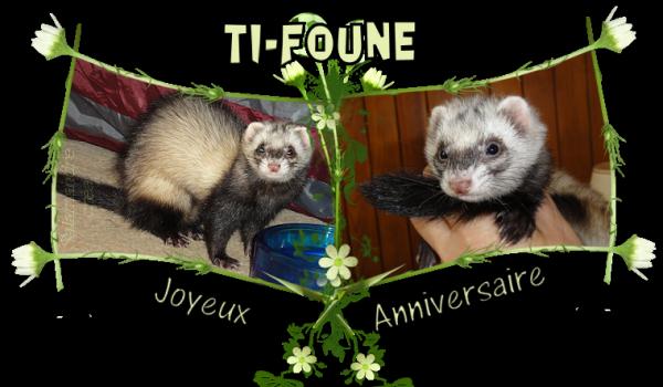 TI-FOUNE a 2 ans