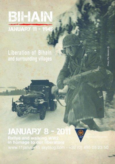 INVITATION POUR NOTRE 3ème MARCHE le 8 Janvier 2011.
