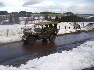 La jeep de Paul