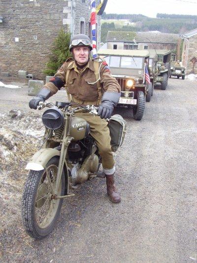 Il est venu de Soumagne en moto !