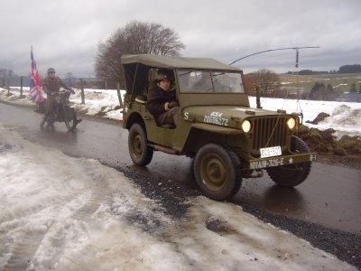 Parmi les 10 Willys du convoi, il y avait la jeep de Jérôme !