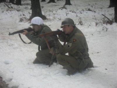 D'autres membres étaient patchés 83rd Infantry Division !  Super... cela va devenir une tradition à la marche de Bihain - Photos  J. Dewasme