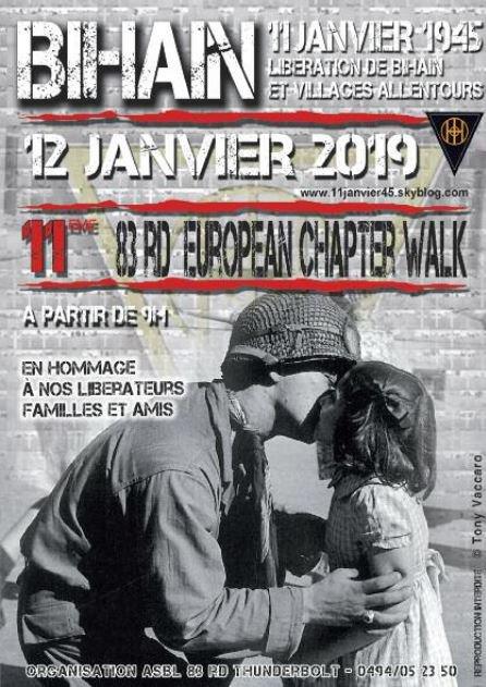 Affiche de notre marche annuelle !