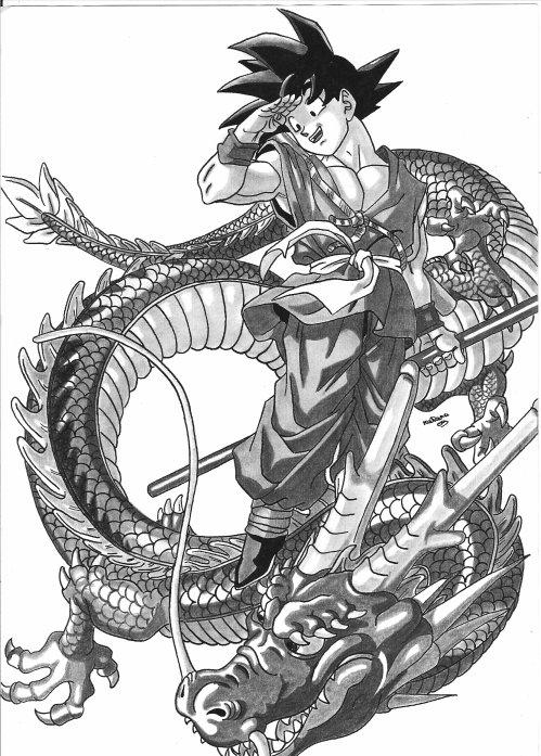 Sangoku le defi d 39 fma57 - Sangoku dessin ...