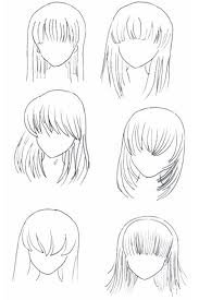 les cheveux mangas