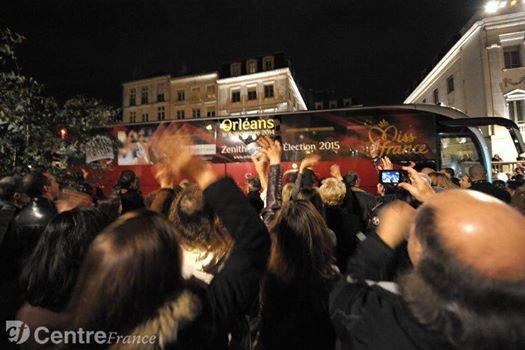 21/11/2014 Arrivée de Margaux à Orléans
