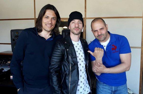 Avec Sébastien Damiani et Samm (Coloquinte)