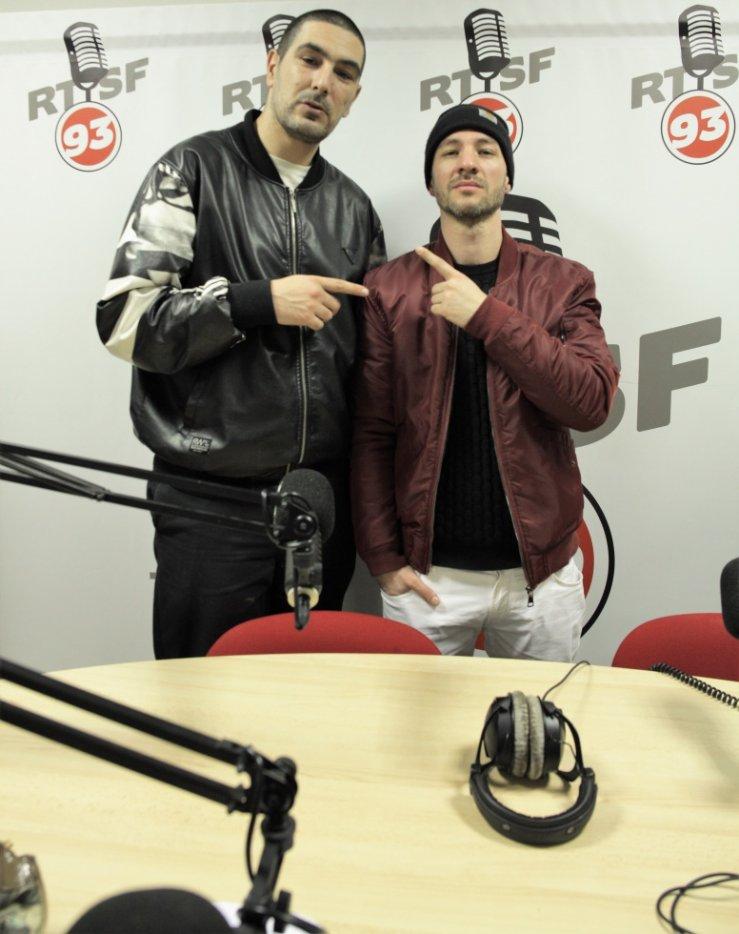 Avec Dj Idem sur Radio RTSF93