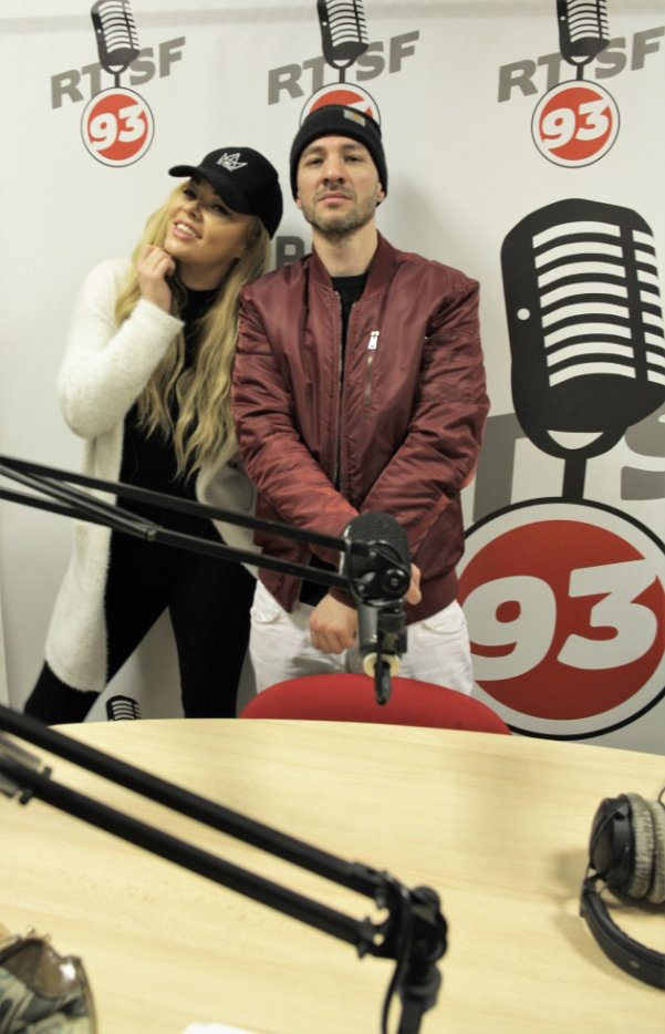 Avec Mac Manu sur Radio RTSF93