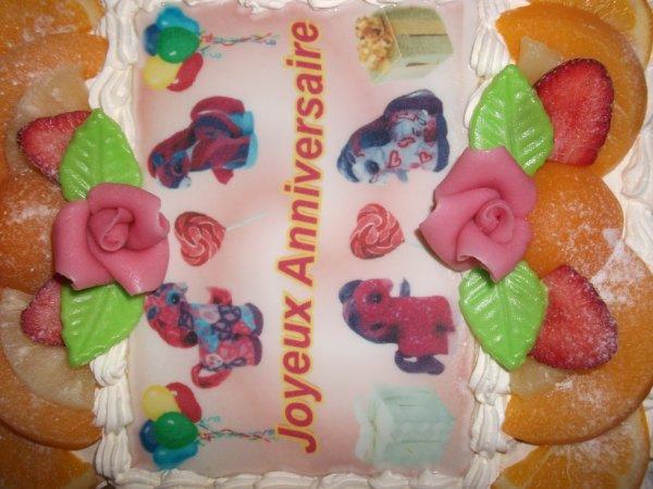 Image pour gateau d' anniversaire