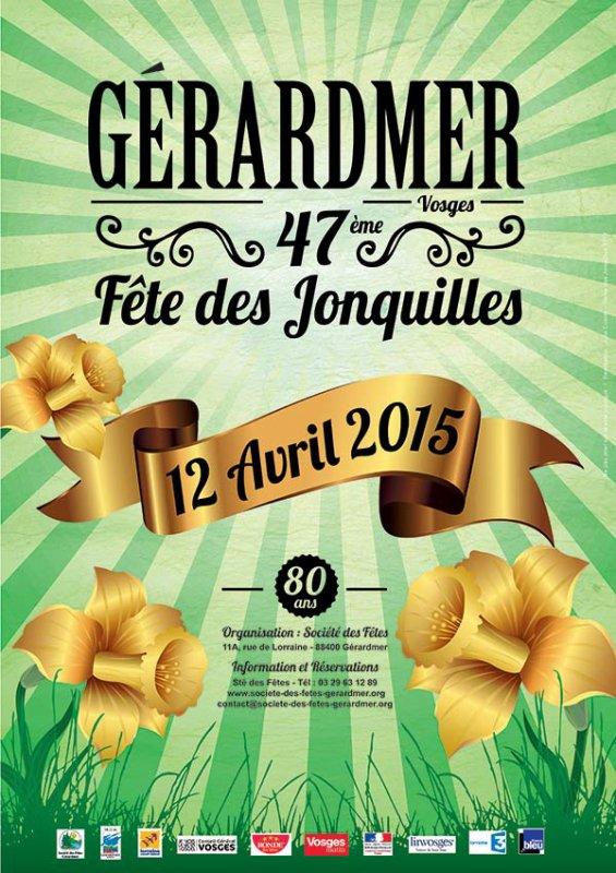 Fête des jonquilles - Gérardmer - 12 avril 2015