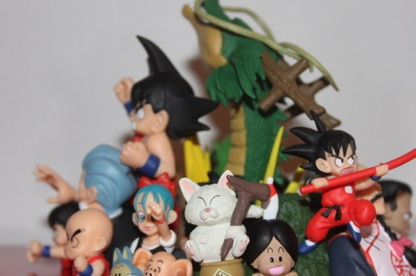 Dragon ball historical+scultures