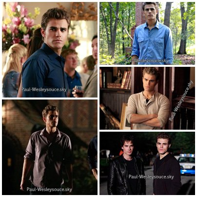 Quelque photos de Paul Wesley ( Stefan Salvatore) Enjoy