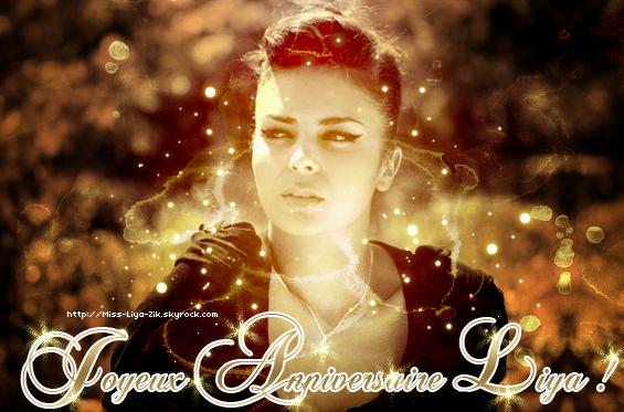 """Joyeux anniversaire Liya !              Page """"Liya"""" sur facebook ● facebook Officiel du Skyblog"""