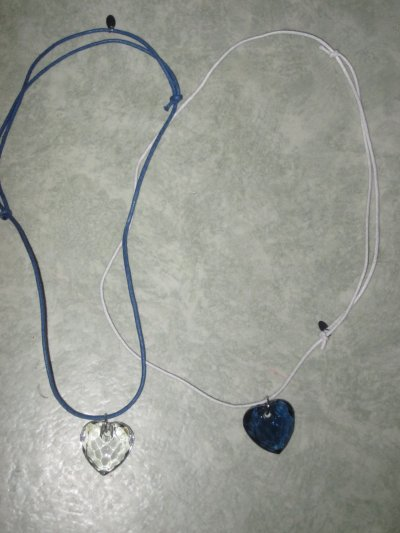 Collier coeur !
