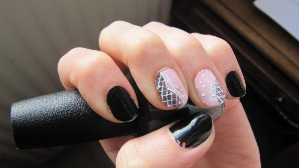 Nail-art dentelle 2
