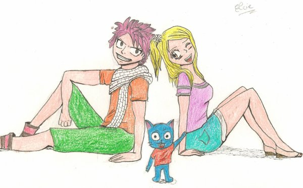 Mon dessin du concours manga/Fairy Tail