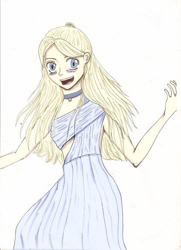 Voici un de mes dessins :3