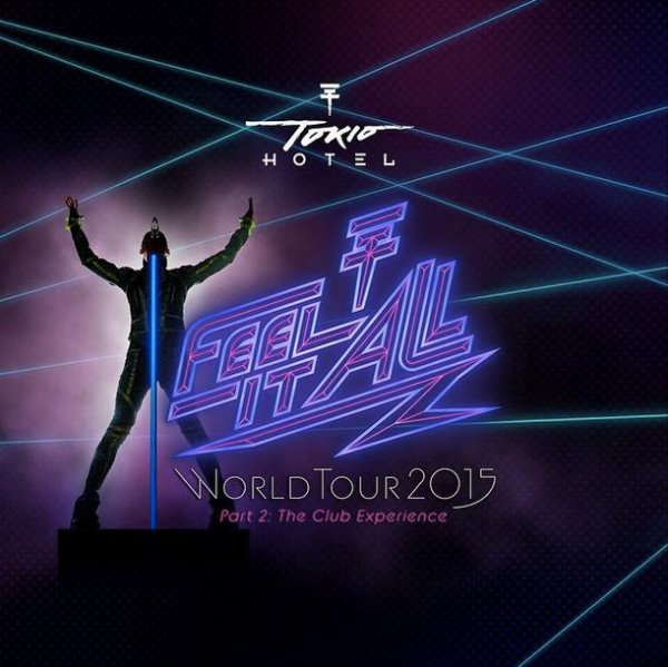 Feel it all World tour Partie 2 - Dates