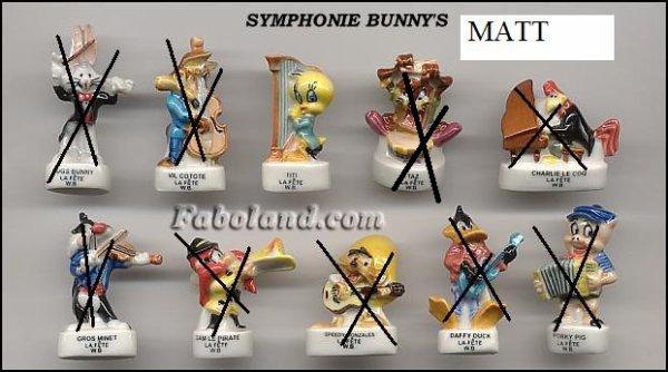 Symphonie bunny's