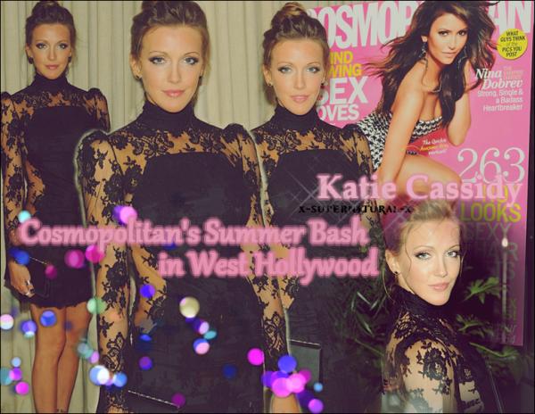 Katie Cassidy : Sortie Août 2013