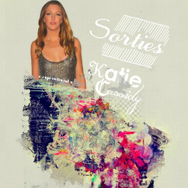 Katie Cassidy Sorties 2013