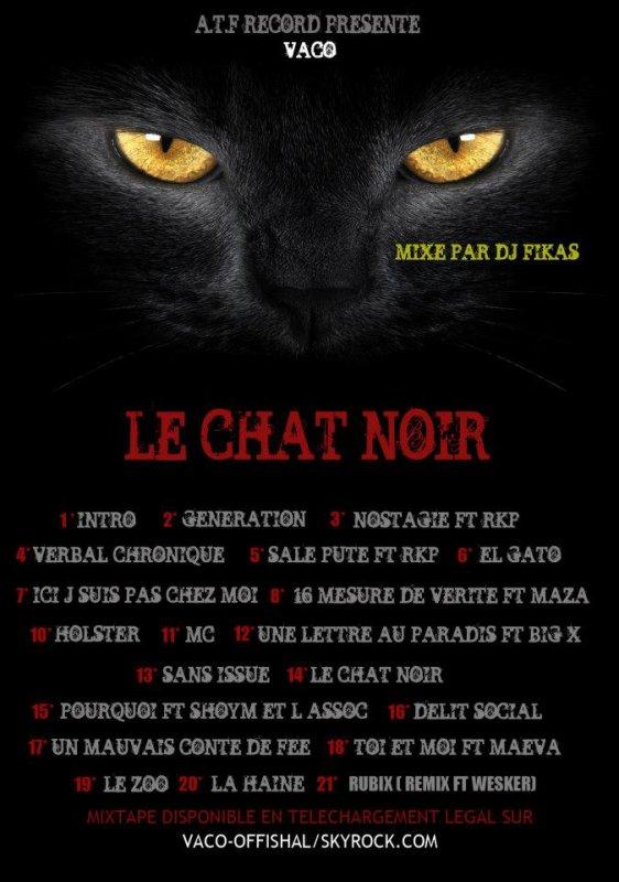 Le chat noir de VACO (mixé par dj fikas)
