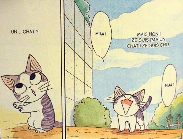 CHI: une vie de chat de Kanata Konami (tome 1 & 2)