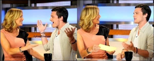 """. Le mardi 26 juin 2012, Josh s'est rendu sur le plateau de """"Good Morning America"""" pour parler du film """"Epic"""", dans lequel Josh double un des personnages. On peut voir sur le premières photos que Josh signe des autographes, toujours aussi dévoué à ses fans. L'interview est ici.."""