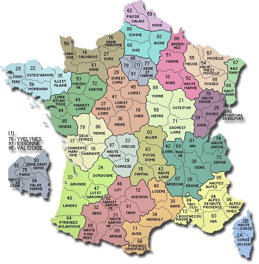 les membres de la team sont dans les region suivantes