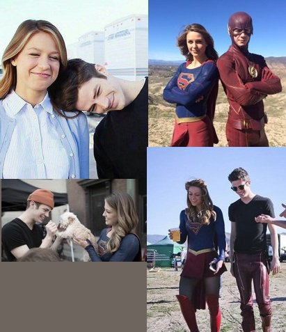 Flash et Supergirl =)