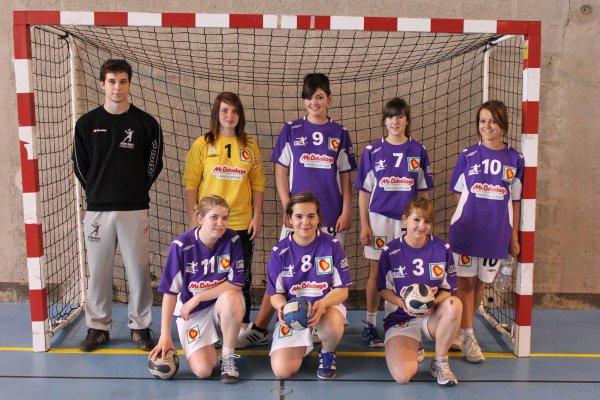 Les Moins de 18 ans Filles en Coupe de Saone et Loire
