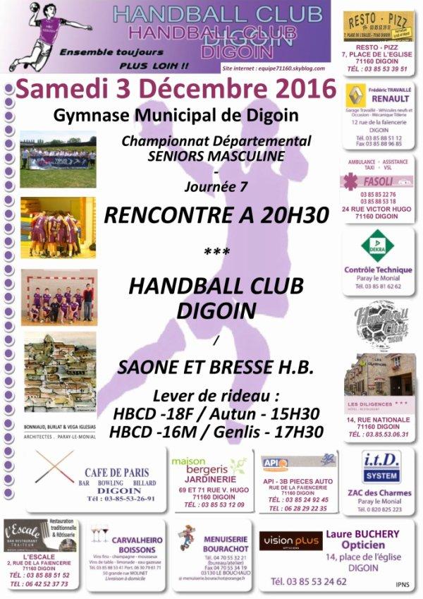 Un beau samedi de handball le 3 décembre pour le Téléthon!