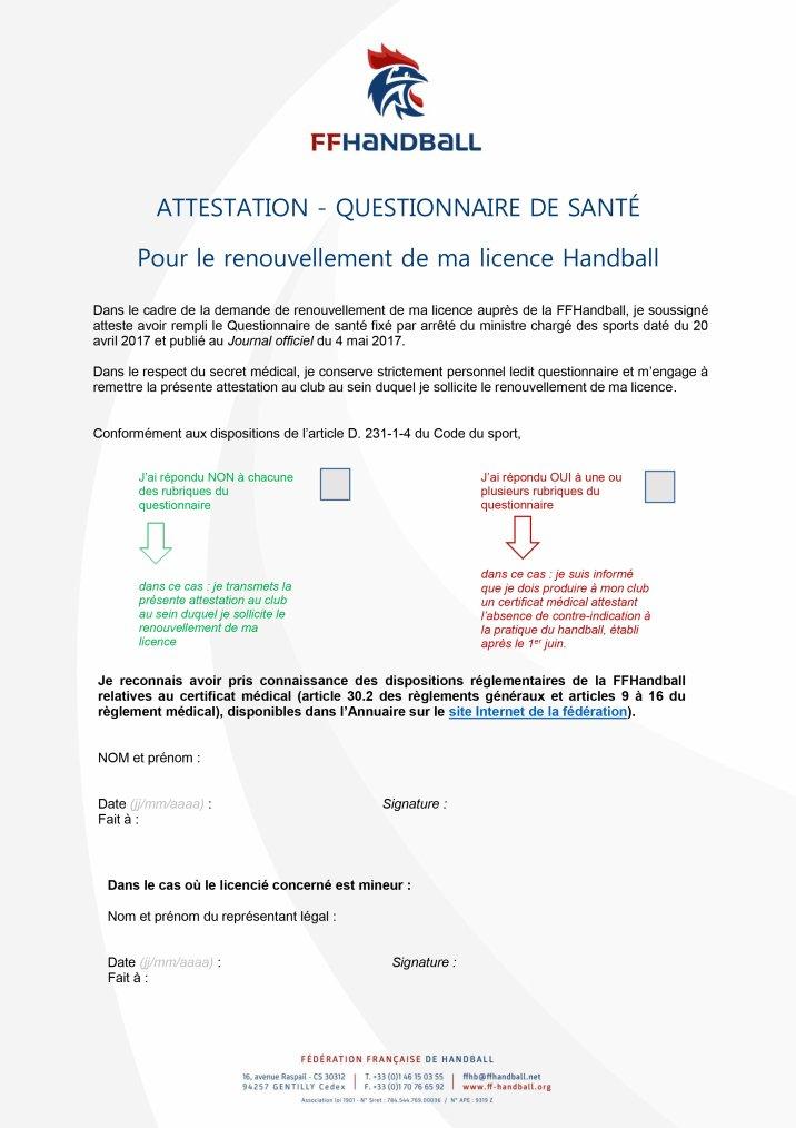 Licences 2018 - 2019 - Inscriptions - Démarches
