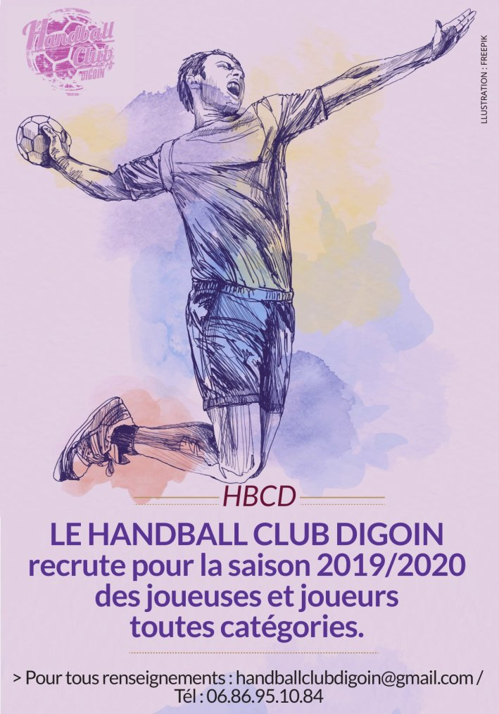 Saison 2019-2020 - HandBall Club Digoin