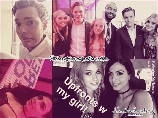 _ PUBLIC APPEARANCES // 07 AVRIL 2016 : Le cast était présent au 2016 Freeform Upfront aux spring studios à New York. Les casts d'autres séries de la chaîne étaient présents comme celui de Pretty Little Liars.
