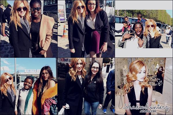 _ PHOTOS PERSONNELLES // 10-11 AVRIL 2016  : Voici les storys snapchat de membres du cast. TOP/BOF/FLOP ? Je trouve ça bien qu'ils partagent avec leurs fans. Puis je suis contente que Kat ait l'air d'apprécier Paris.