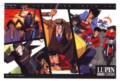 Lupin III - une saga qui dure depuis 40 ans