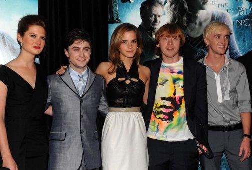 Emma aurait eu le coup de foudre sur l'un des acteurs du film Harry Potter ?
